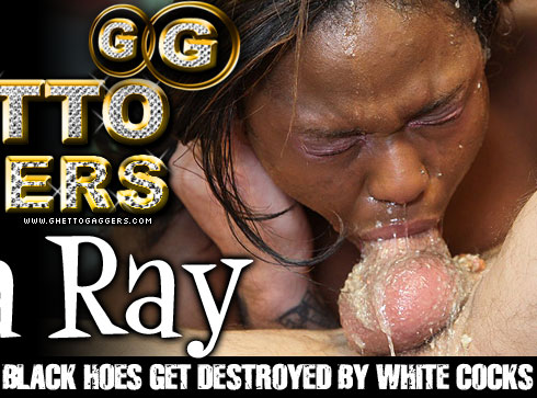 Layla Ray Destroyed On Ghetto Gaggers